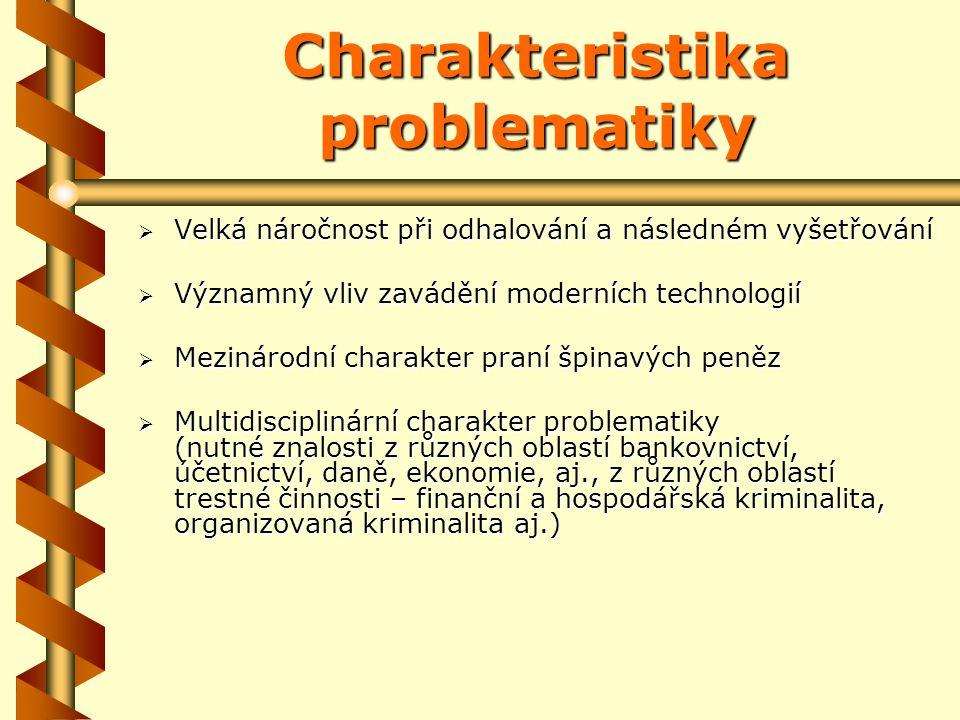 Základní právní úprava v ČR zákon č.