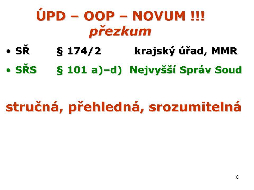 8 ÚPD – OOP – NOVUM !!.