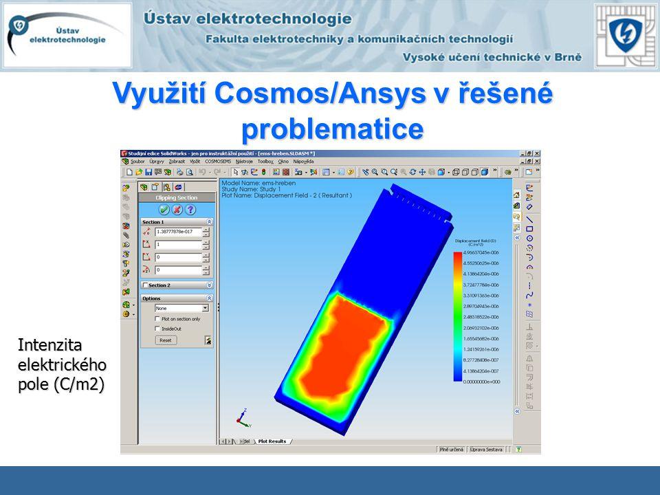 Intenzitaelektrického pole (C/m2)