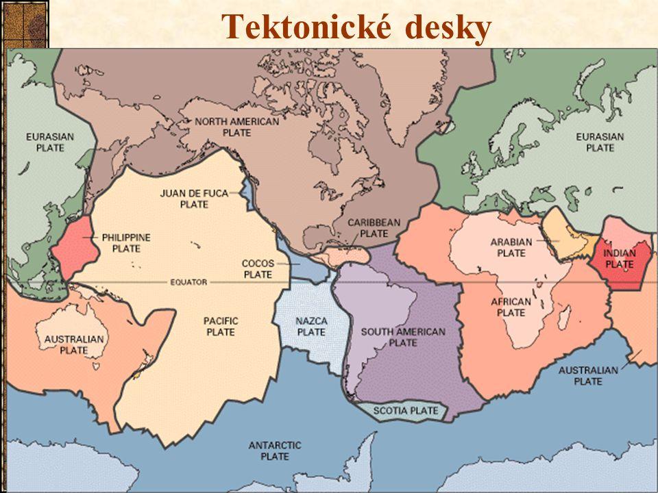 6 Tektonické desky