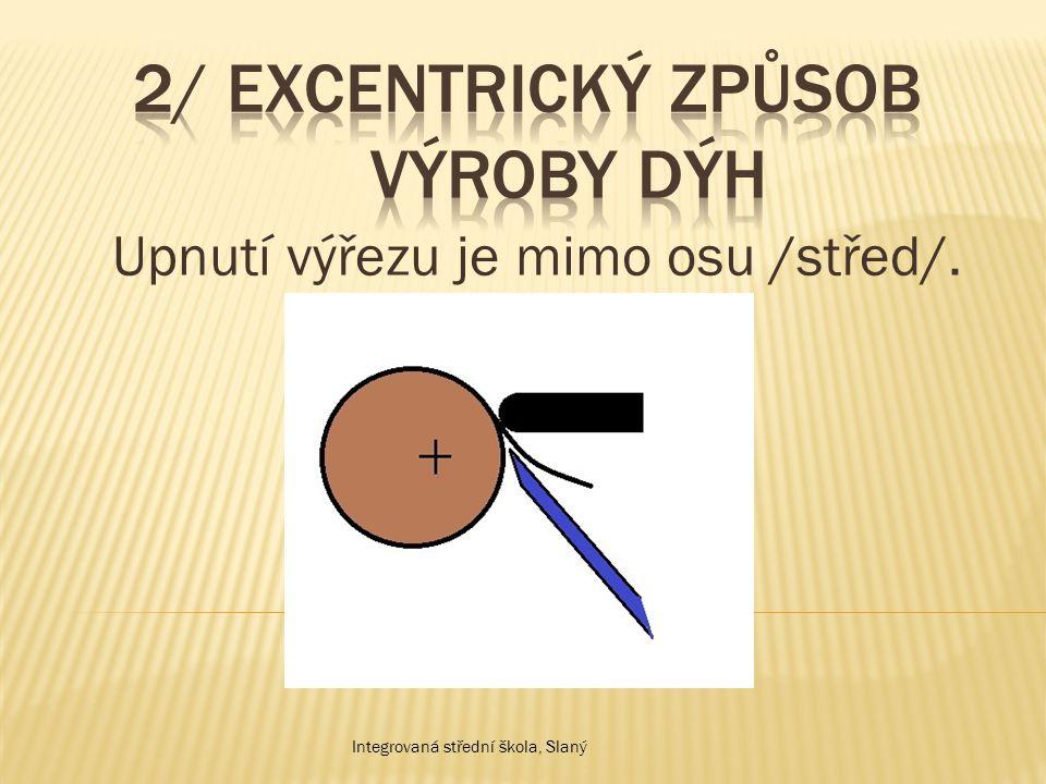 Při tomto způsobu výroby se získávají dýhy v listech, které se číslují kvůli kresbě a svazkují se.