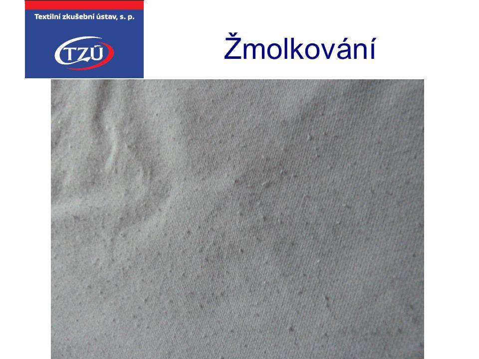Textilní zkušební ústav, s. p. Brno Žmolkování