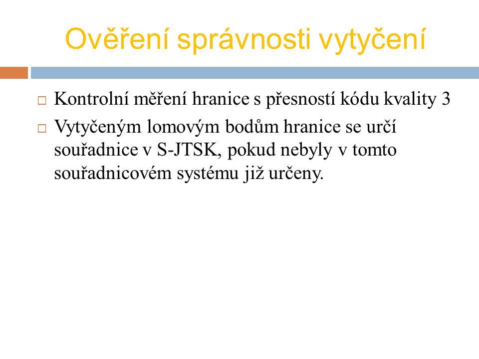 Součinnost s vlastníky při vytyčení hranice pozemků  §86 ve vyhlášce 26/2007 sb.