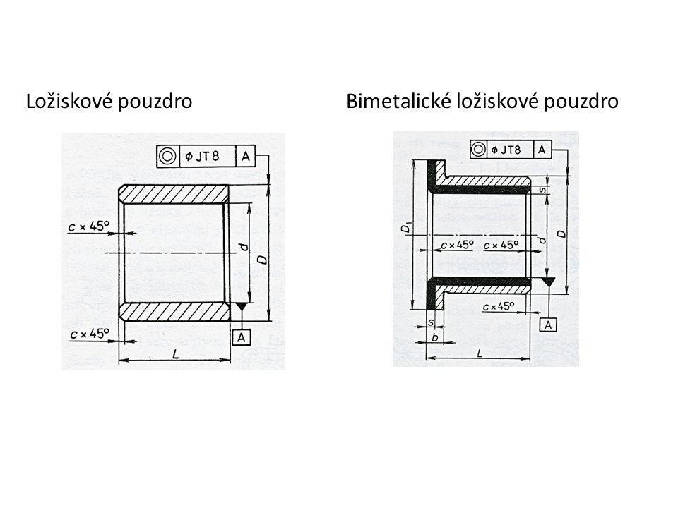 Ložiskové pouzdroBimetalické ložiskové pouzdro