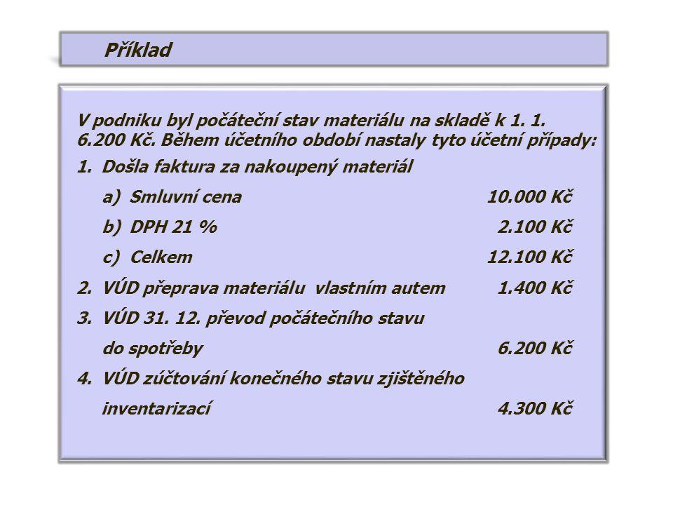 7 MD 321 Závazky z obch.vztahů D Řešení MD 622 Aktivace vnitr.