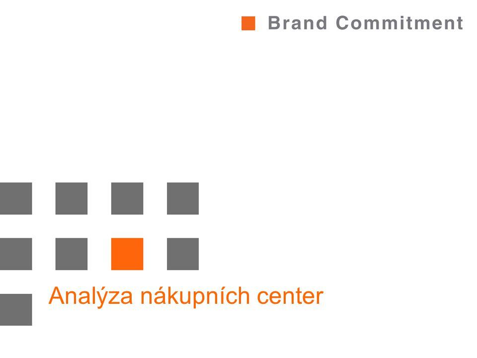 Analýza nákupních center
