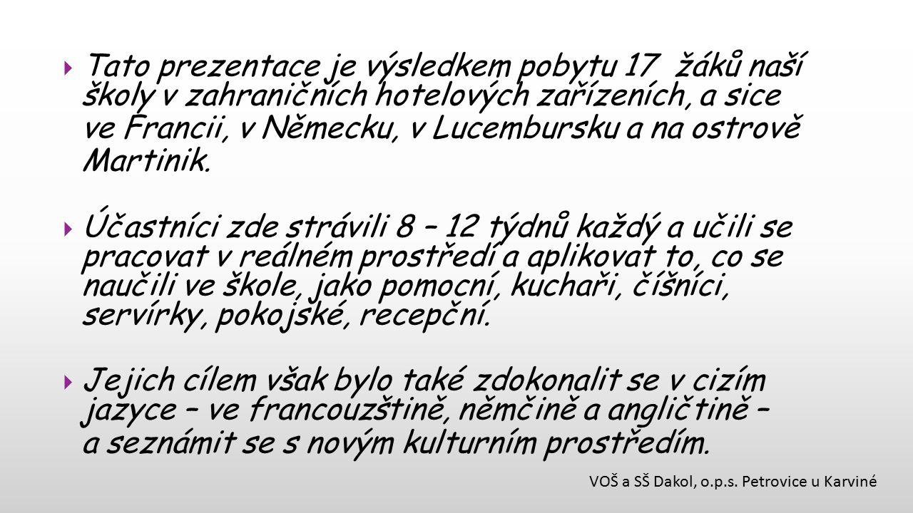 VOŠ a SŠ Dakol, o.p.s.