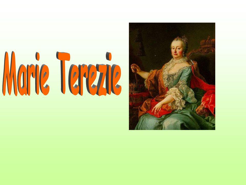 Marie Terezie (1717 – 1740 - 1780) první a poslední žena na habsburském i českém trůně Nastoupila na trůn ve věku 23 let, nepřipravená k vladaření, na základě nástupnického řádu, který složitě vyjednal se souhlasem evropských panovníků její otec Karel VI.