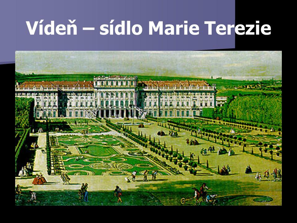 Vídeň – sídlo Marie Terezie