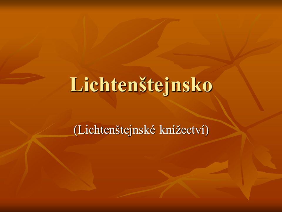 Lichtenštejnsko (Lichtenštejnské knížectví)