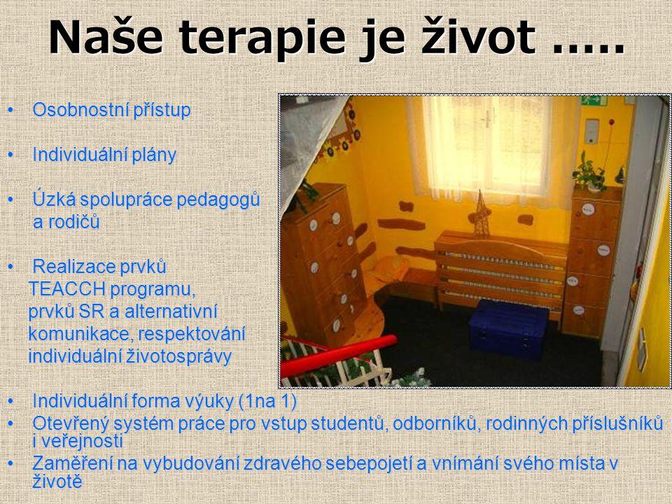 Naše terapie je život.....