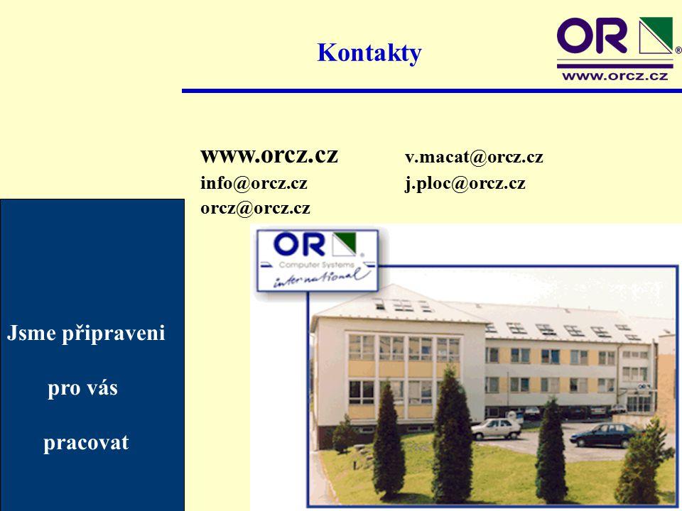Kontakty www.orcz.cz v.macat@orcz.cz info@orcz.czj.ploc@orcz.cz orcz@orcz.cz Jsme připraveni pro vás pracovat
