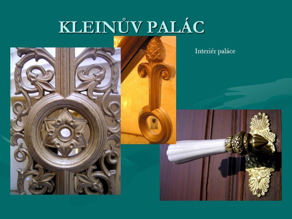 Interiér paláce