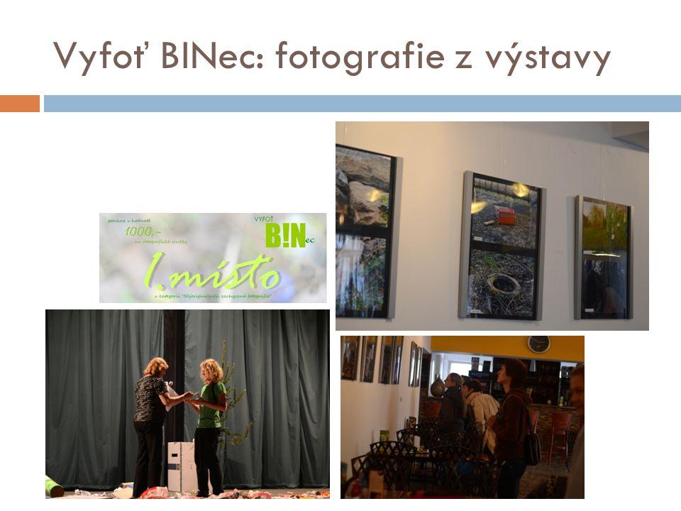 Vyfoť BINec: fotografie z výstavy