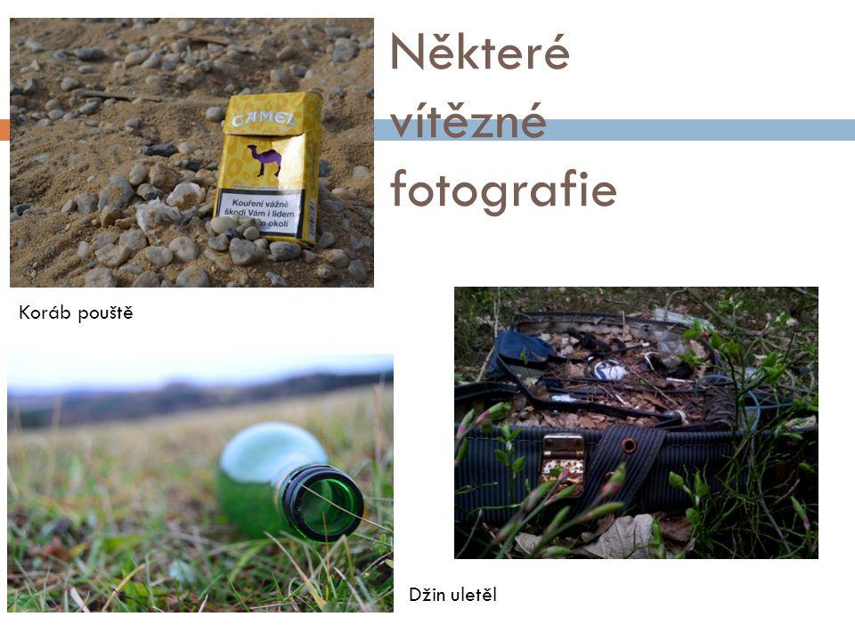 Některé vítězné fotografie Koráb pouště Džin uletěl