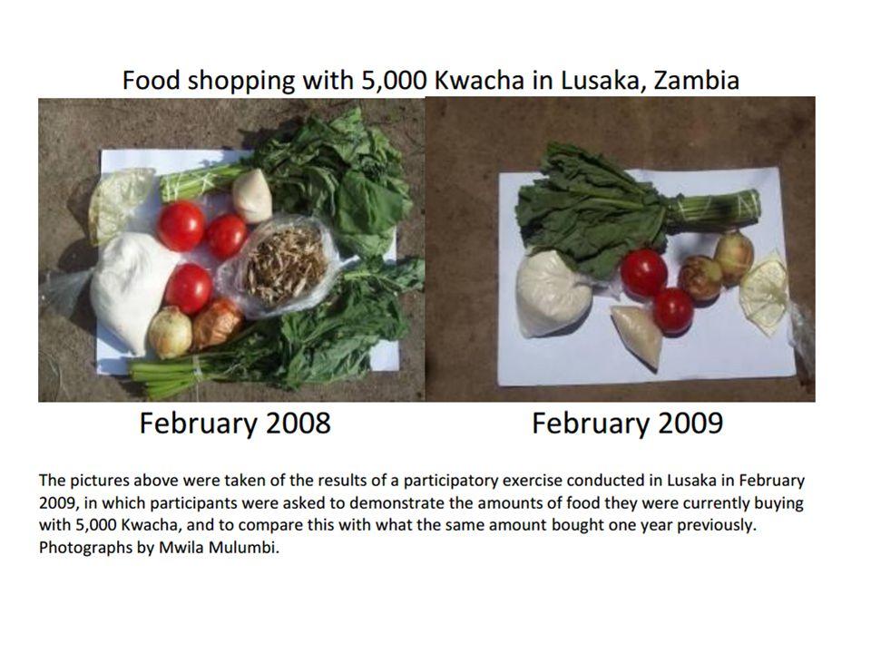 Odolnost… Celoživotní úspory Migrace Snížení zbytné spotřeby Delší a dodatečná práce Udržení dětí ve škole prioritou Komunální jídla Podpora v rodině a komunitě 66
