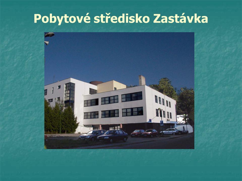 Administrativní budova Ubytovna 02 Ubytovna 03 Ubytovna 04 Integrační azylové středisko.