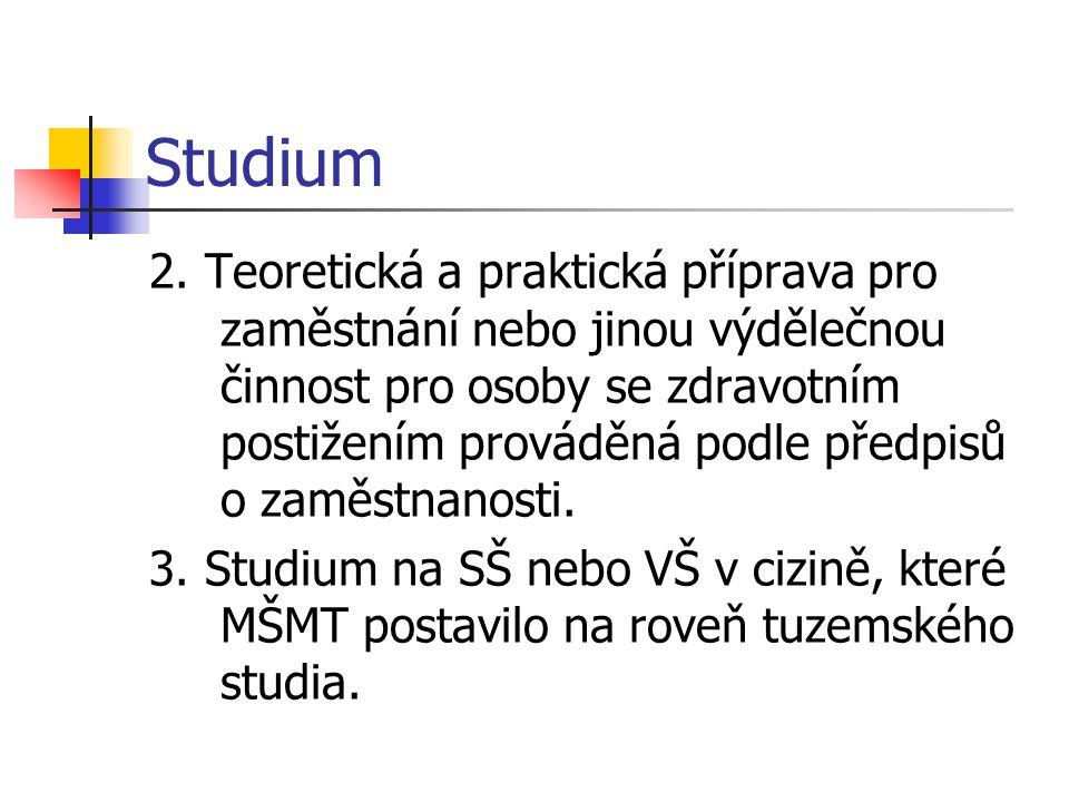 Studium 2.