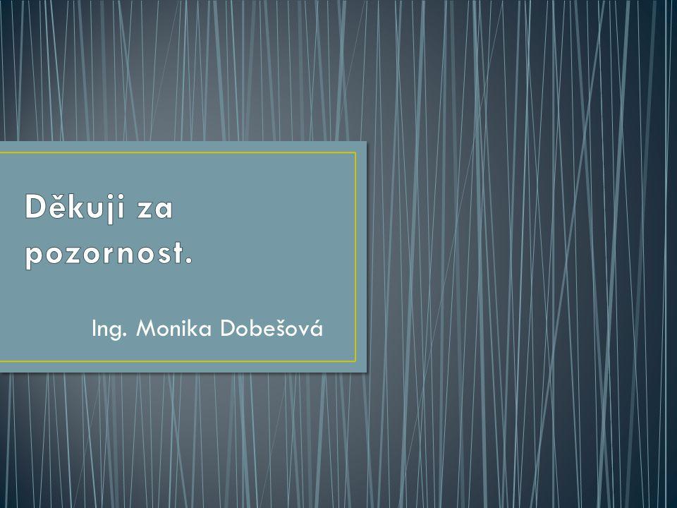 Ing. Monika Dobešová