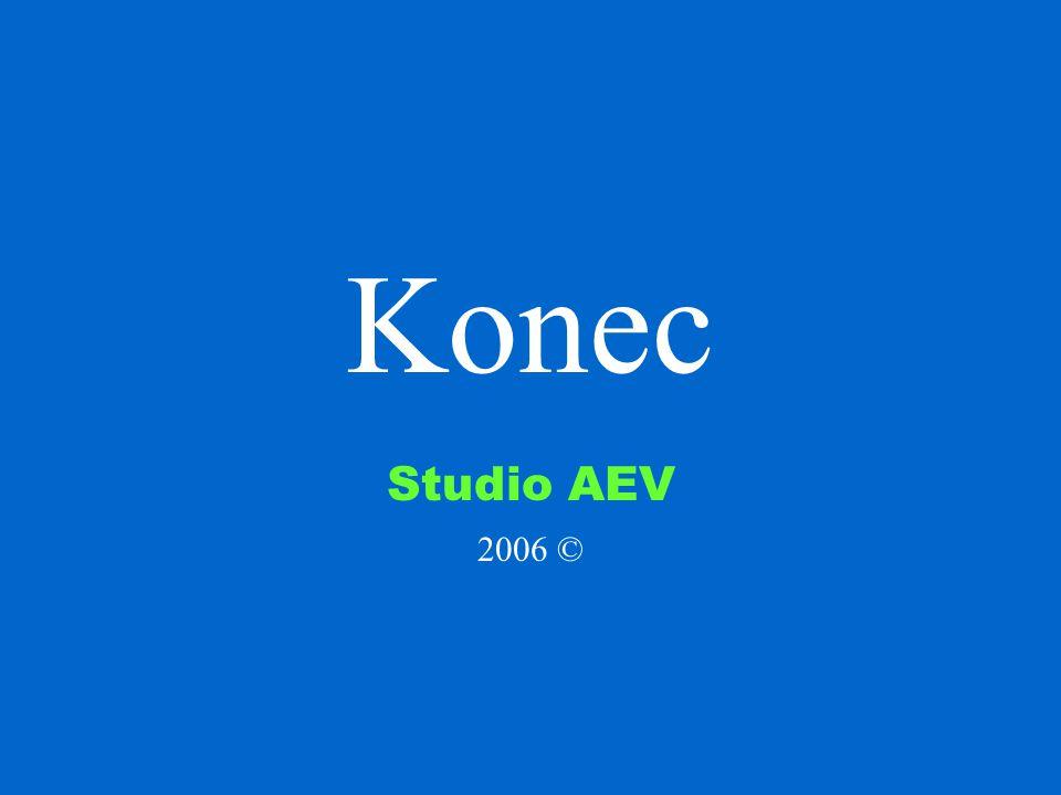 Konec Studio AEV 2006 ©