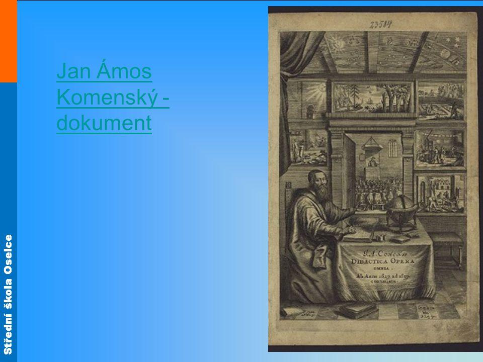 Střední škola Oselce Jan Ámos Komenský - dokument