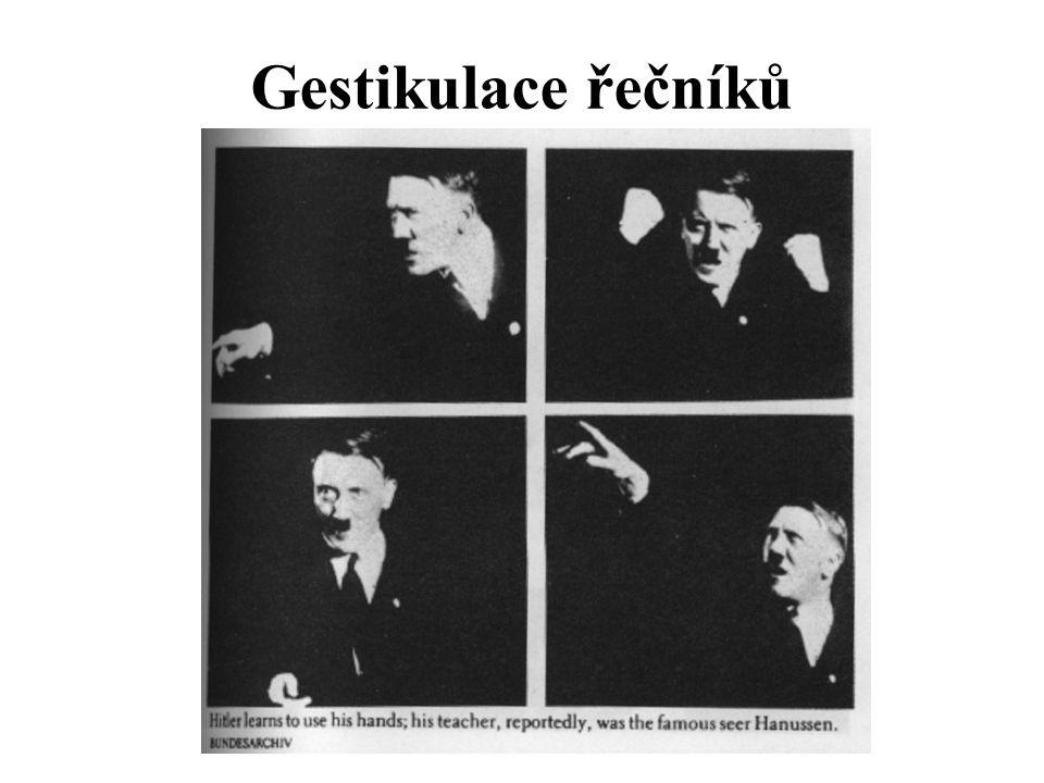 Gestikulace řečníků