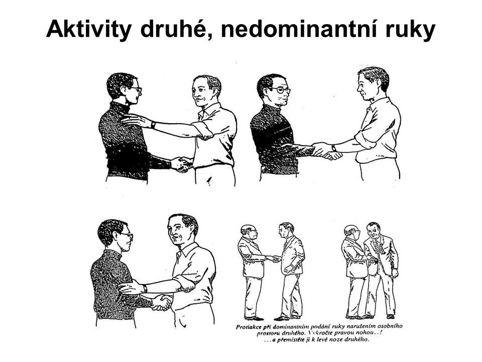 Aktivity druhé, nedominantní ruky