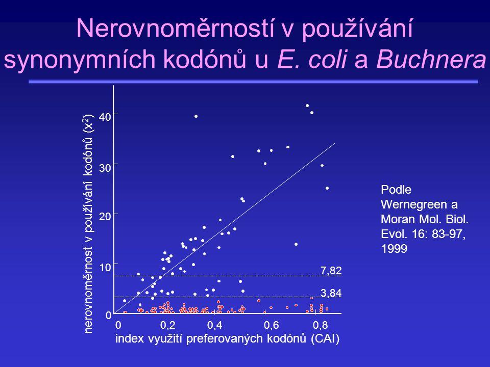 Obsah Druhy molekulárních znaků Mechanismy šíření a fixace molekulárních znaků Polymorfismus Nerovnoměrnost v používání synonymních kodónů Molekulární hodiny