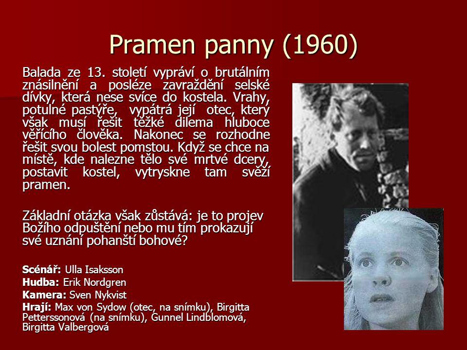 Pramen panny (1960) Balada ze 13.