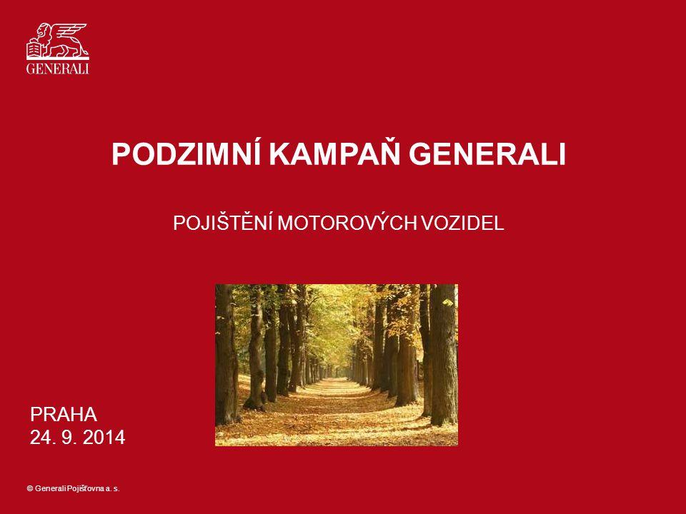 © Generali Pojišťovna a.s.