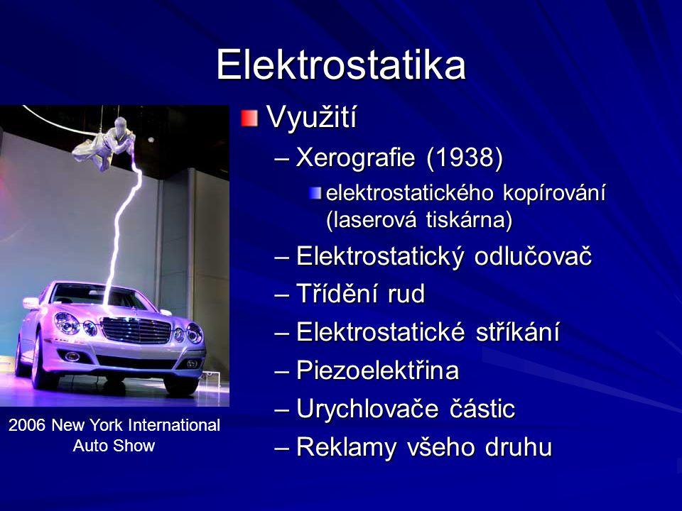 Elektrostatika - pokus Elektrostatické kyvadlo