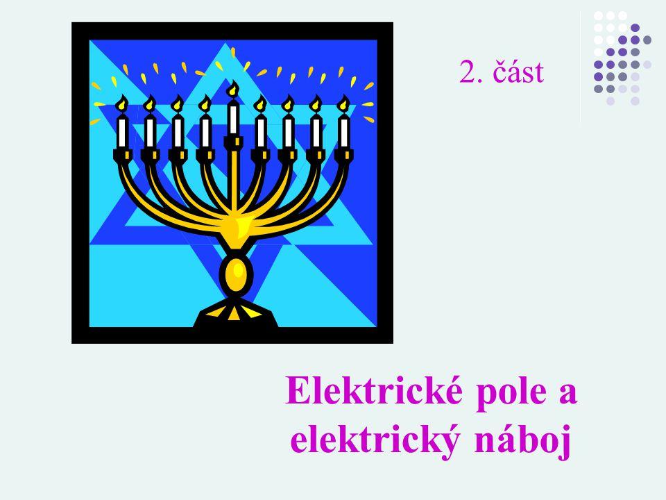 Elektrické pole a elektrický náboj 2. část
