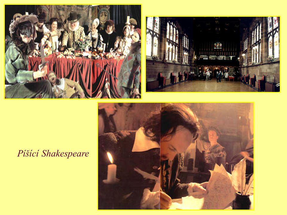 Roku 1585 se Shakespeare připojil ke kočovným divadelníkům. Roku 1592 přišel do Londýna. V letech 1593 až 1594 byla londýnská divadla zavřená kvůli ep