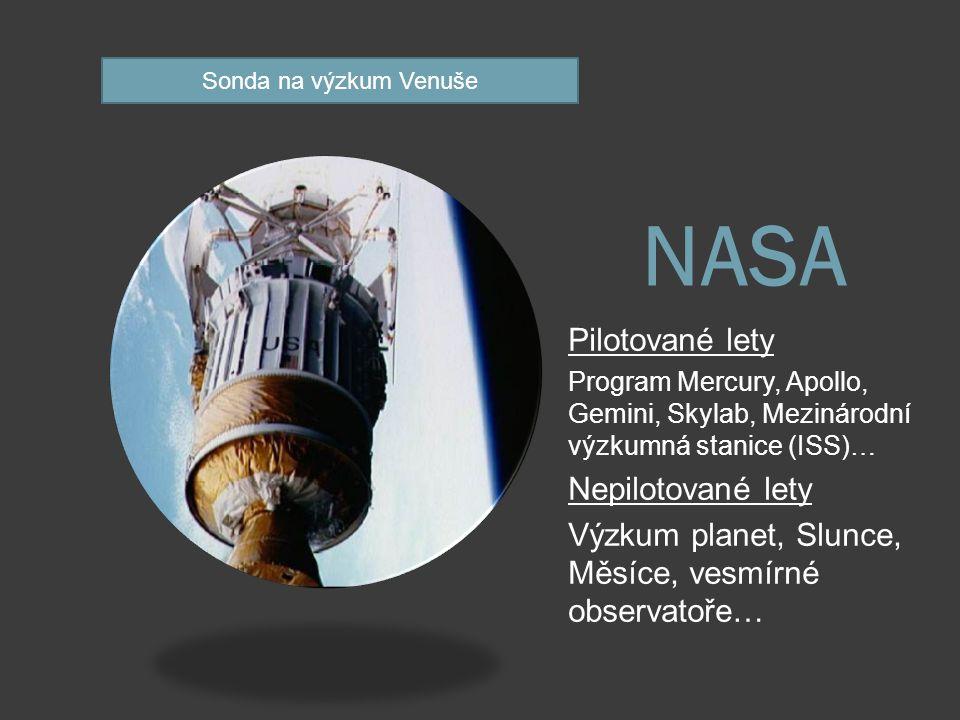 Rusko a výzkum vesmíru Roskosmos  Federální kosmická agentura založená v r.