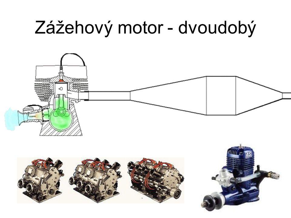 Zážehový motor - dvoudobý