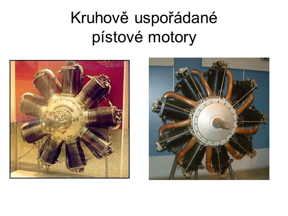 Kruhově uspořádané pístové motory
