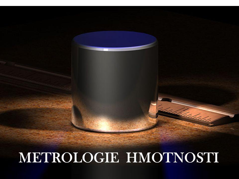 P81 METROLOGIE HMOTNOSTI