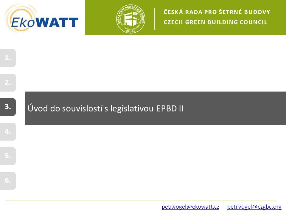 petr.vogel@czgbc.org Úvod do souvislostí s legislativou EPBD II 2.