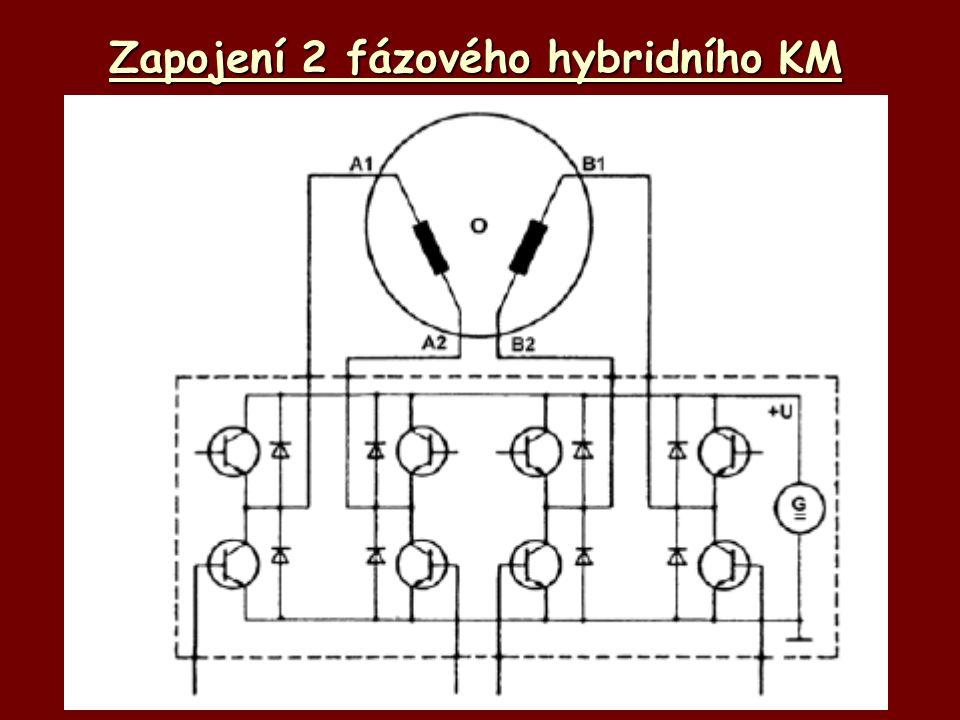 Zapojení 2 fázového hybridního KM