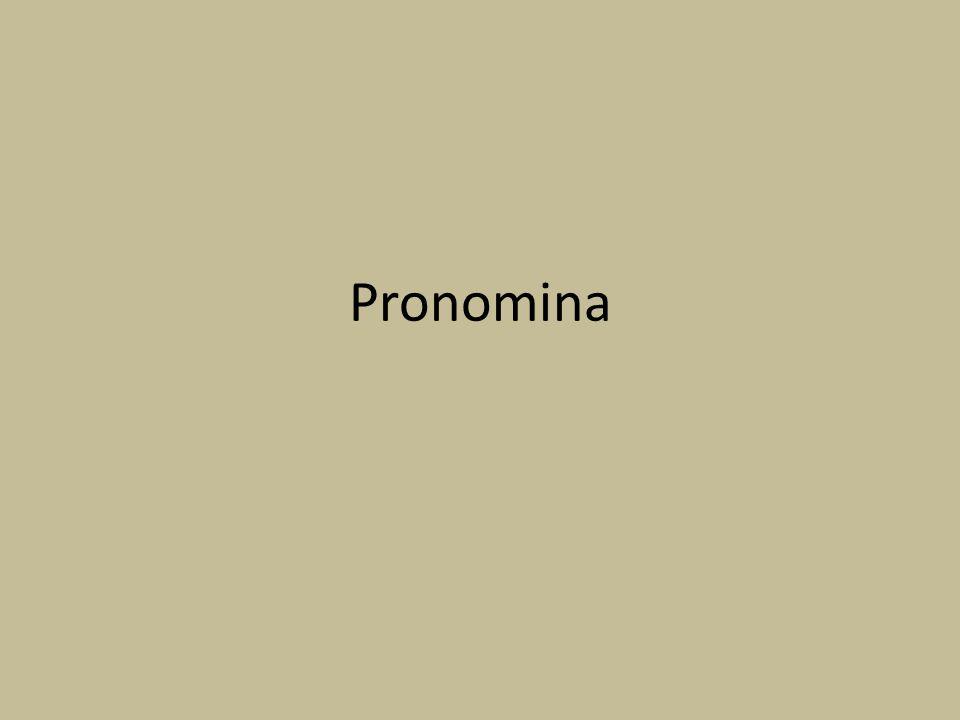 Pronomina