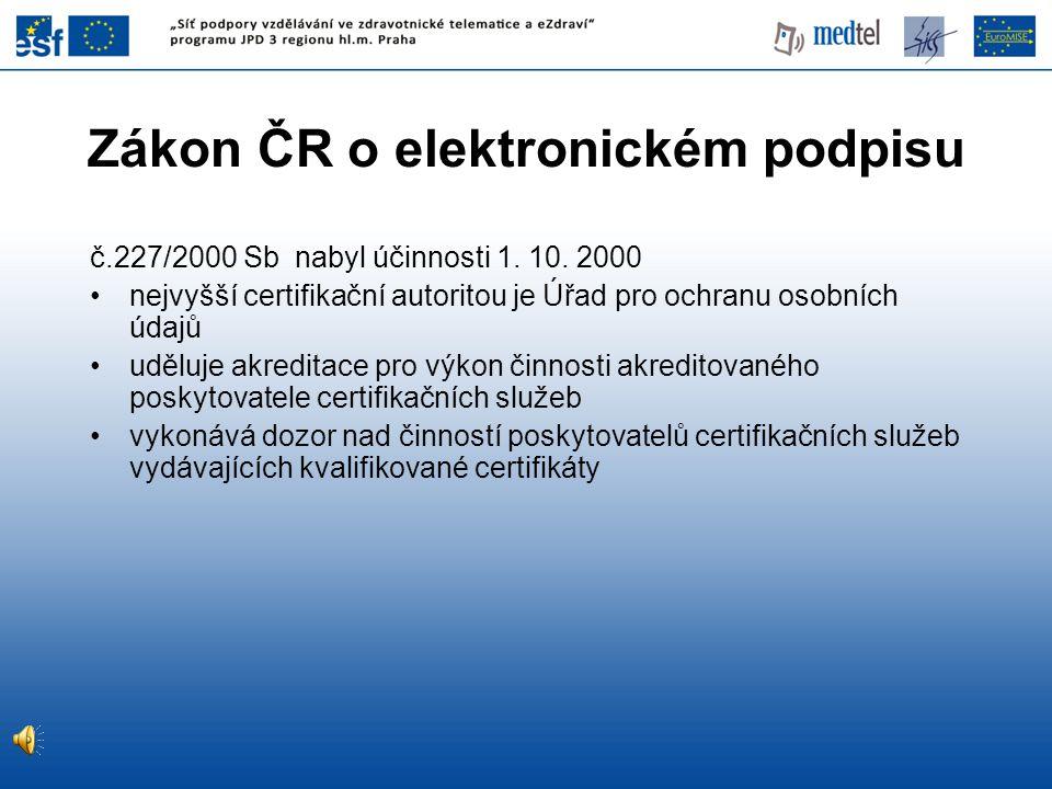 č.227/2000 Sb nabyl účinnosti 1.10.