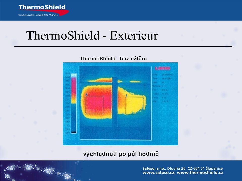 ThermoShield bez nátěru o 30% vyšší tepelná jímavost – akumulace tepla