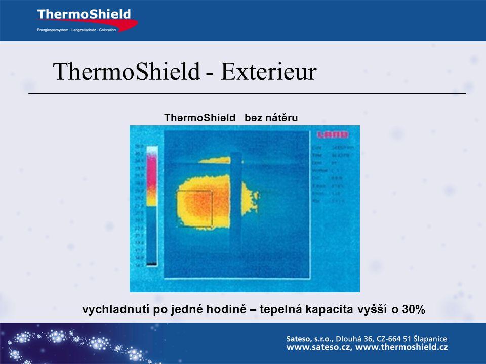 ThermoShield - Exterieur ThermoShield bez nátěru vychladnutí po půl hodině
