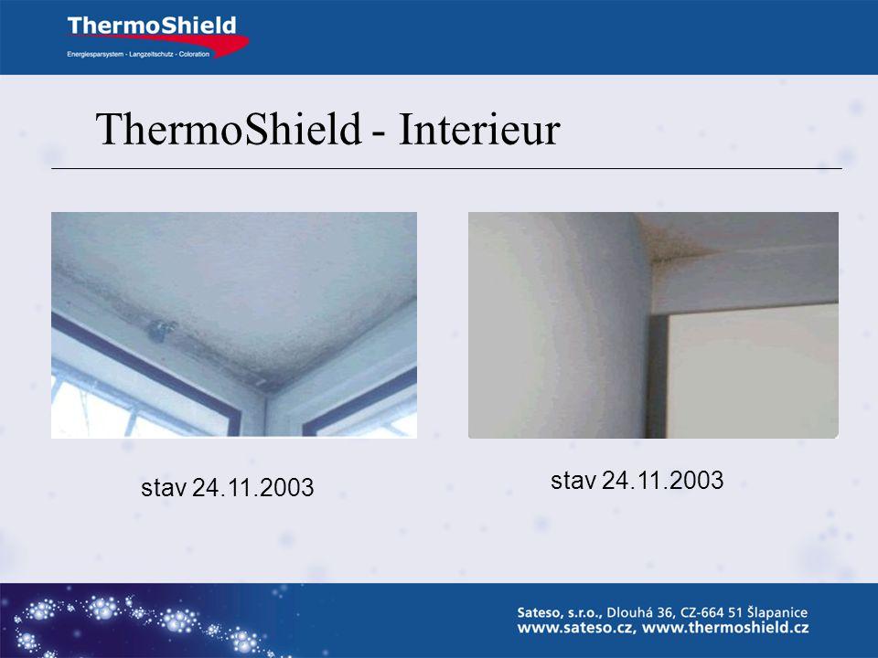 ThermoShield - Interieur Vyloučení tepelných mostů