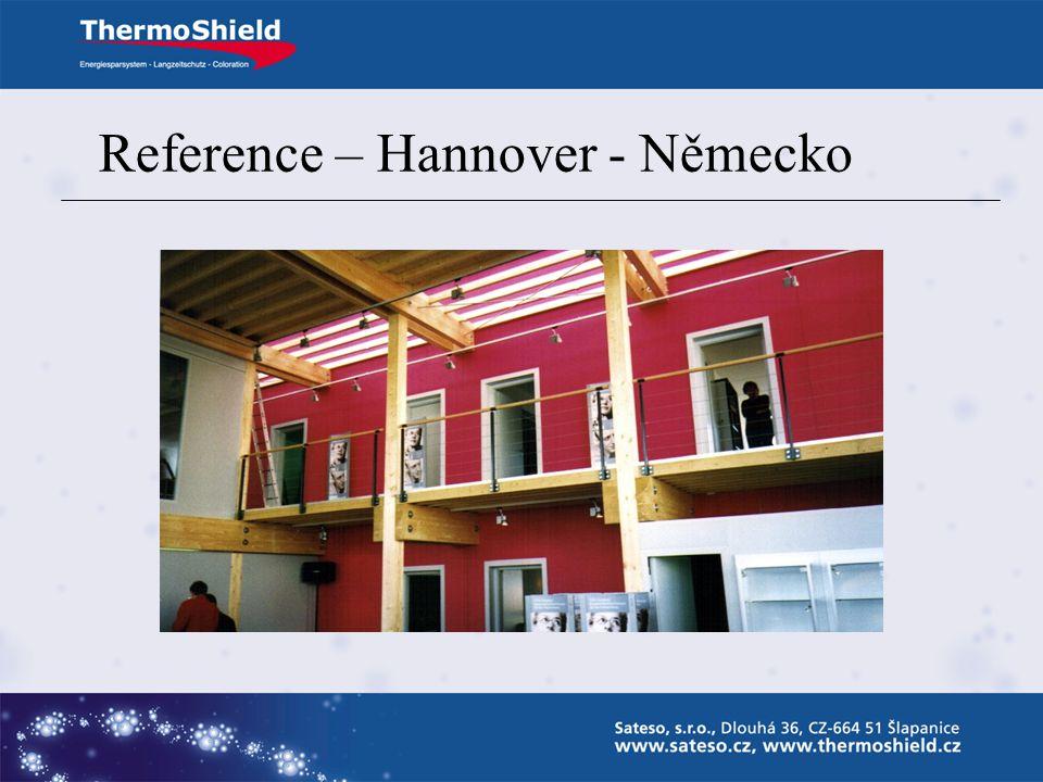 Reference – Hannover - Německo