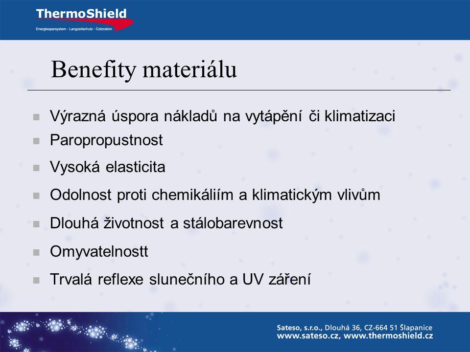 ThermoShield - Exterieur ThermoShield bez nátěru vychladnutí po jedné hodině – tepelná kapacita vyšší o 30%