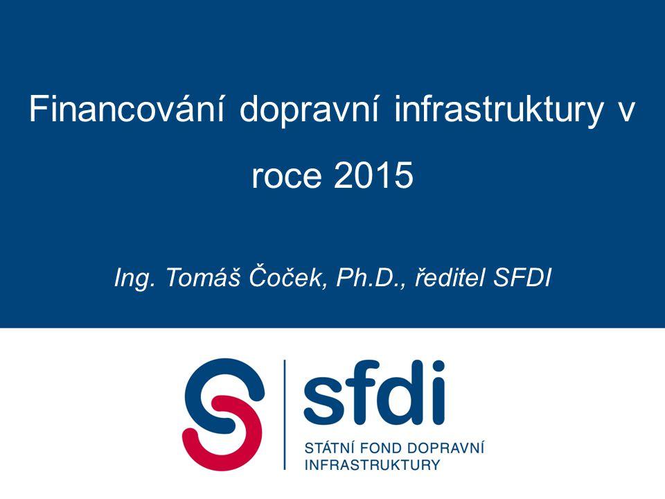 Nové finanční nástroje Rozpočet SFDI Legislativní úpravy Obsah prezentace
