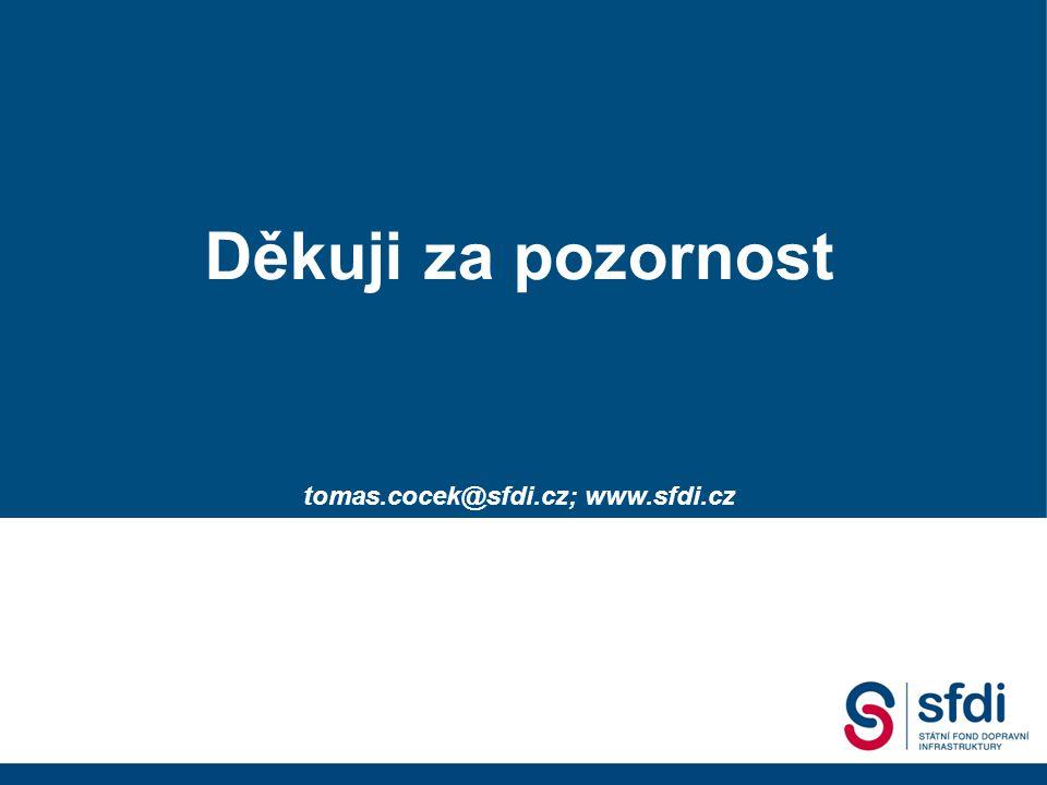 Státní fond dopravní infrastruktury 2. Dopravní fórum, 18.09. 2007 Gustáv Slamečka ředitel SFDI Děkuji za pozornost tomas.cocek@sfdi.cz; www.sfdi.cz