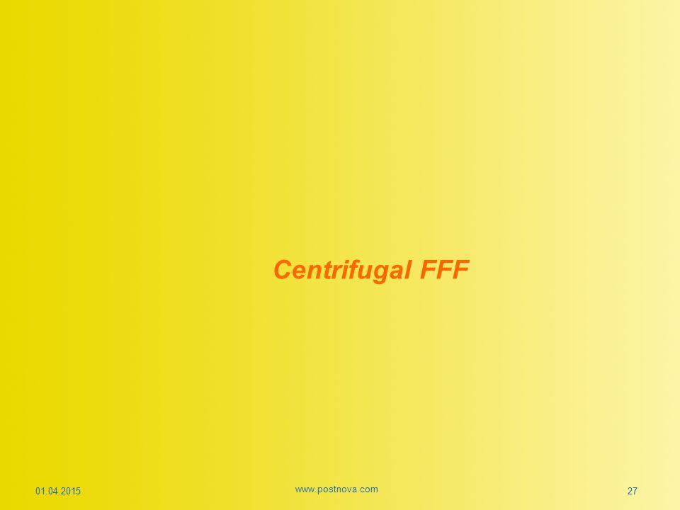 Centrifugal FFF 01.04.2015 www.postnova.com 27
