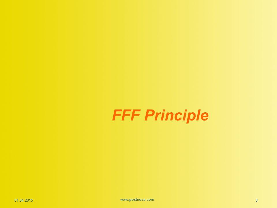 FFF Principle 01.04.2015 www.postnova.com 3